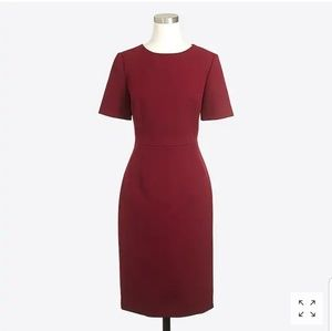 J Crew Maroon Dress